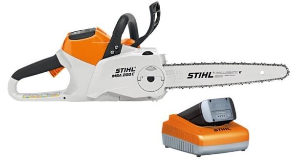 Аккумуляторная пила STIHL MSA 200 C-BQ 14″ MSA 200 C-BQ, с AP 300 и AL 300 арт.12512000021