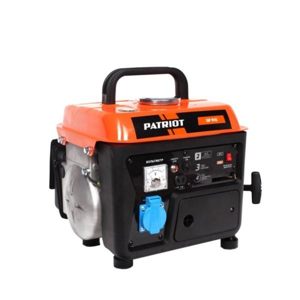 Генератор бензиновый PATRIOT  GP  910 арт.474101519