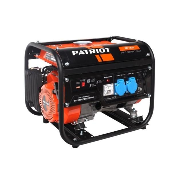 Генератор бензиновый PATRIOT  GP 1510 арт.474101525