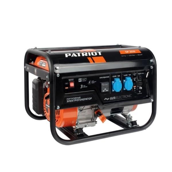 Генератор бензиновый PATRIOT  GP 2510 арт.474101530