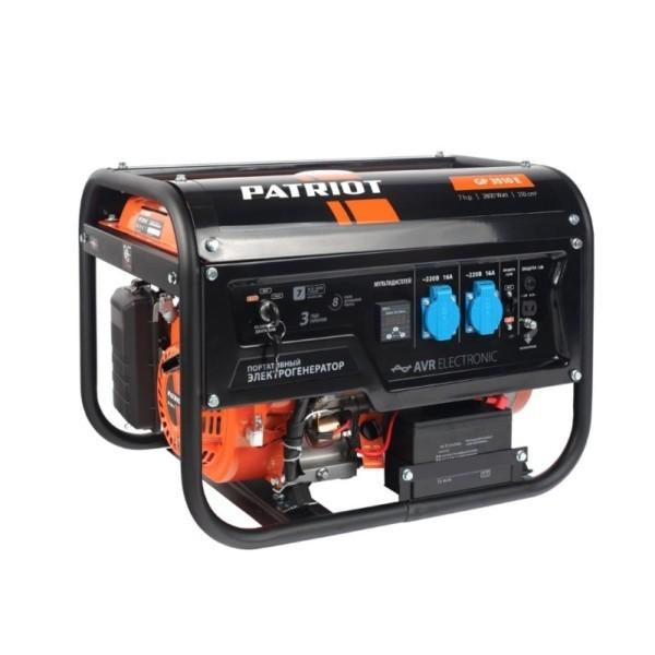 Генератор бензиновый PATRIOT  GP 3510E арт. 474101540