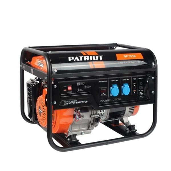 Генератор бензиновый PATRIOT  GP 5510 арт.474101555