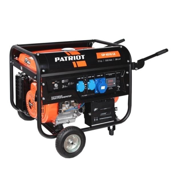 Генератор бензиновый PATRIOT GP 6510LE арт.474101570