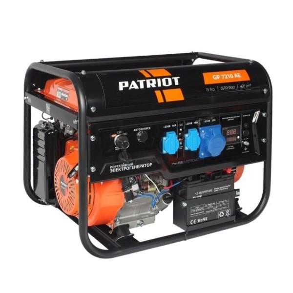 Генератор бензиновый PATRIOT GP 7210AE арт.474101590