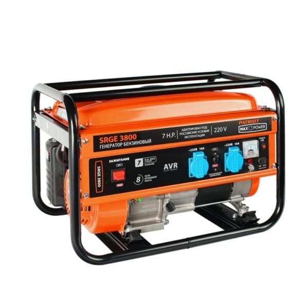 Генератор бензиновый PATRIOT Max Power SRGE 3800 арт.474103155