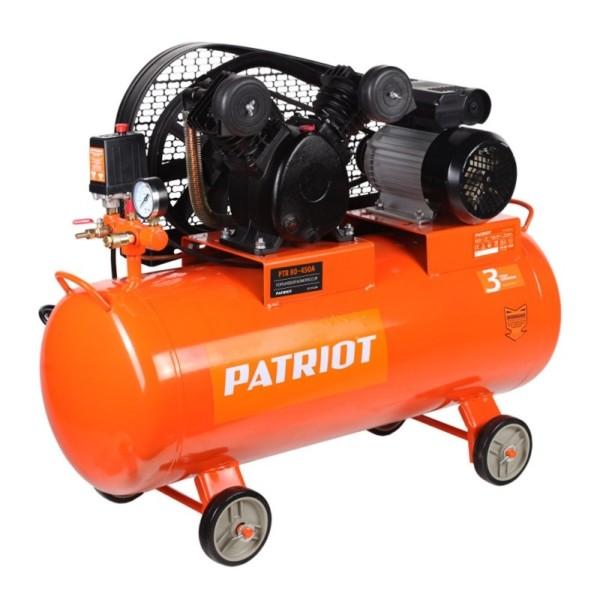 Компрессор PATRIOT PTR 80-450A, Ременной, 220В, 2.2 кВт, арт. 525306312