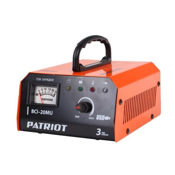 Зарядное устройство PATRIOT BCI-20MU арт. 650303421