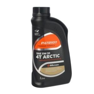 Масло полусинтетическое PATRIOT G-Motion 5W30 4Т ARCTIC 1л арт.850030100