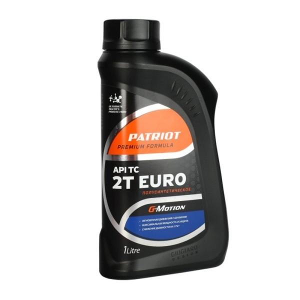 Масло полусинтетическое PATRIOT G-Motion 2Т EURO 1л арт. 850030200