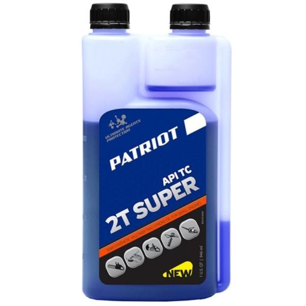 Масло полусинт. PATRIOT SUPER ACTIVE 2T дозаторная 0,946л. арт. 850030569