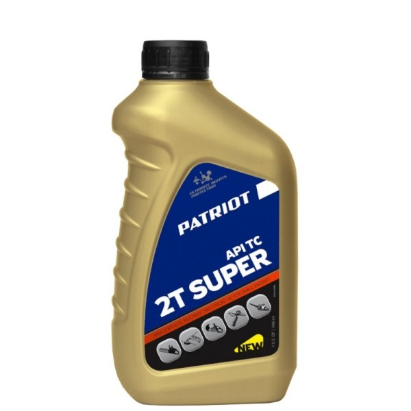 Масло полусинт. PATRIOT SUPER ACTIVE 2T 0,946л. арт.850030596
