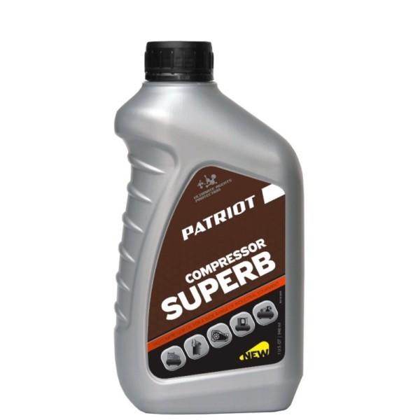 Масло PATRIOT COMPRESSOR OIL GTD 250/VG 100 0,946л. арт. 850030600