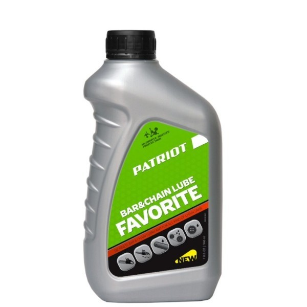 Масло цепное PATRIOT FAVORITE BAR&CHAIN LUBE 0,946л. арт.850030601