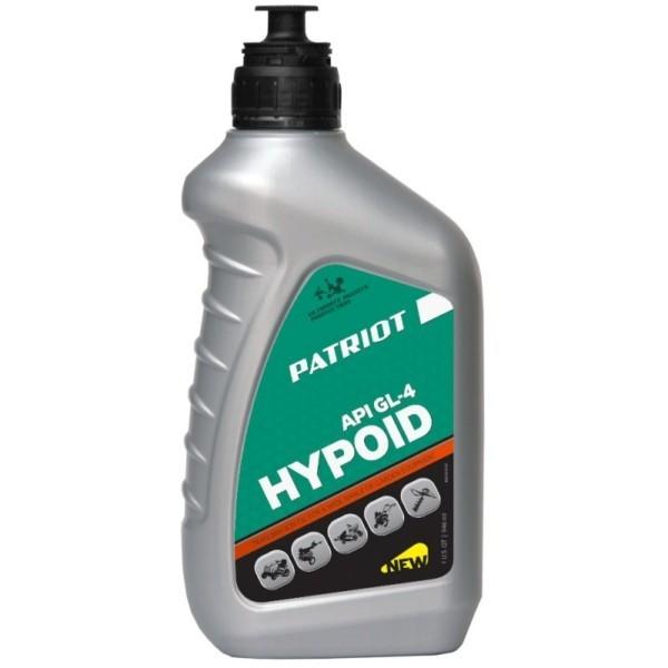 Масло трансмиссионное PATRIOT HYPOID API GL-4 80W85 0,946 л арт. 850030727