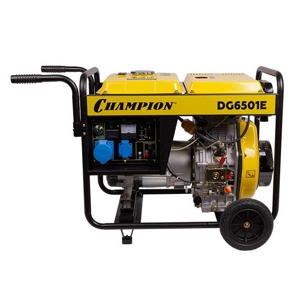 Генератор диз. CHAMPION  DG6501E
