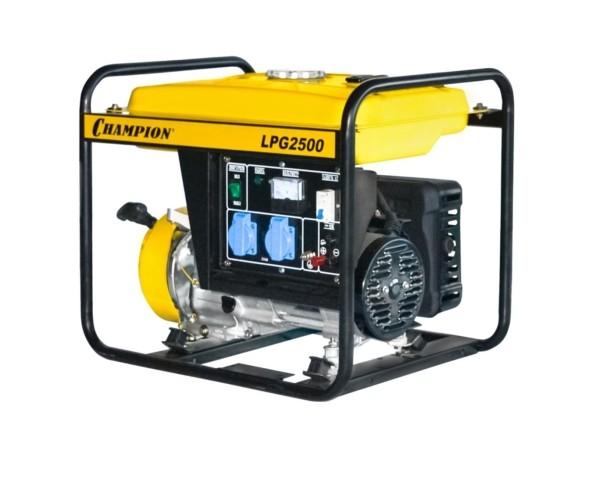 Генератор CHAMPION LPG2500 (бензин+газ)