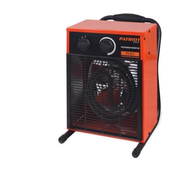 Тепловентилятор электрический PATRIOT PT-Q 3 арт. 633307210