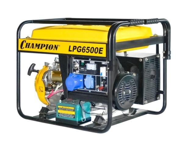 Генератор CHAMPION LPG6500E (бензин+газ)