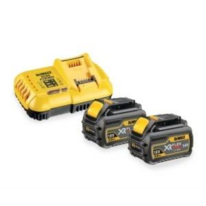 Набор зарядное устройство DCB118 + 2 батареи DCB547 9Ач DEWALT DCB118X2-QW