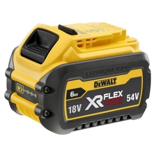 Аккумулятор DEWALT FLEXVOLT DCB546, 18В, 6Ач / 54В, 2Ач