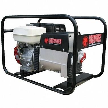 Генератор бензиновый EUROPOWER EP 5000 T 3X230V для ж/д арт.SA426